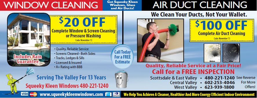 Window Cleaning Phoenix, Phoenix Window Cleaning by Squeeky Kleen Windows